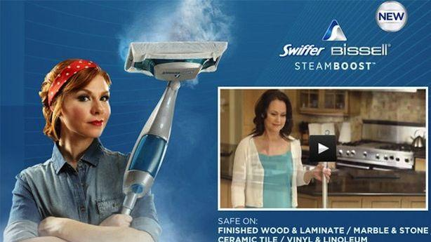 Swiffer Swiftly Cleans Up Offensive Rosie the Riveter Campaign