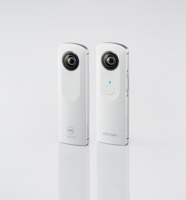 RICOH THETA 3 Ricoh THETA: Kamera Panorama 360° Pertama di Dunia smart camera news foto video