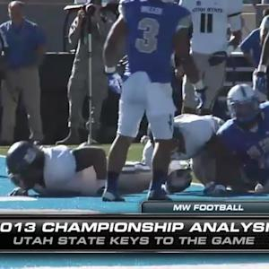 MW Football Championship Analysis – USU Keys To The Game