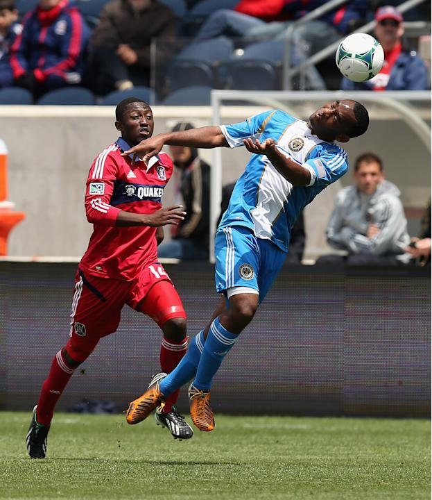 Philadelphia Union v Chicago Fire
