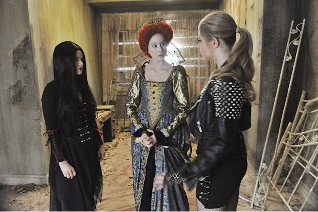 "It's the Halloween before Alison disappeared and where all of the secrets and lies began for Aria, Emily, Hanna and Spencer in ""The First Secret,"" a special Halloween-themed episode of ABC Family's hi"