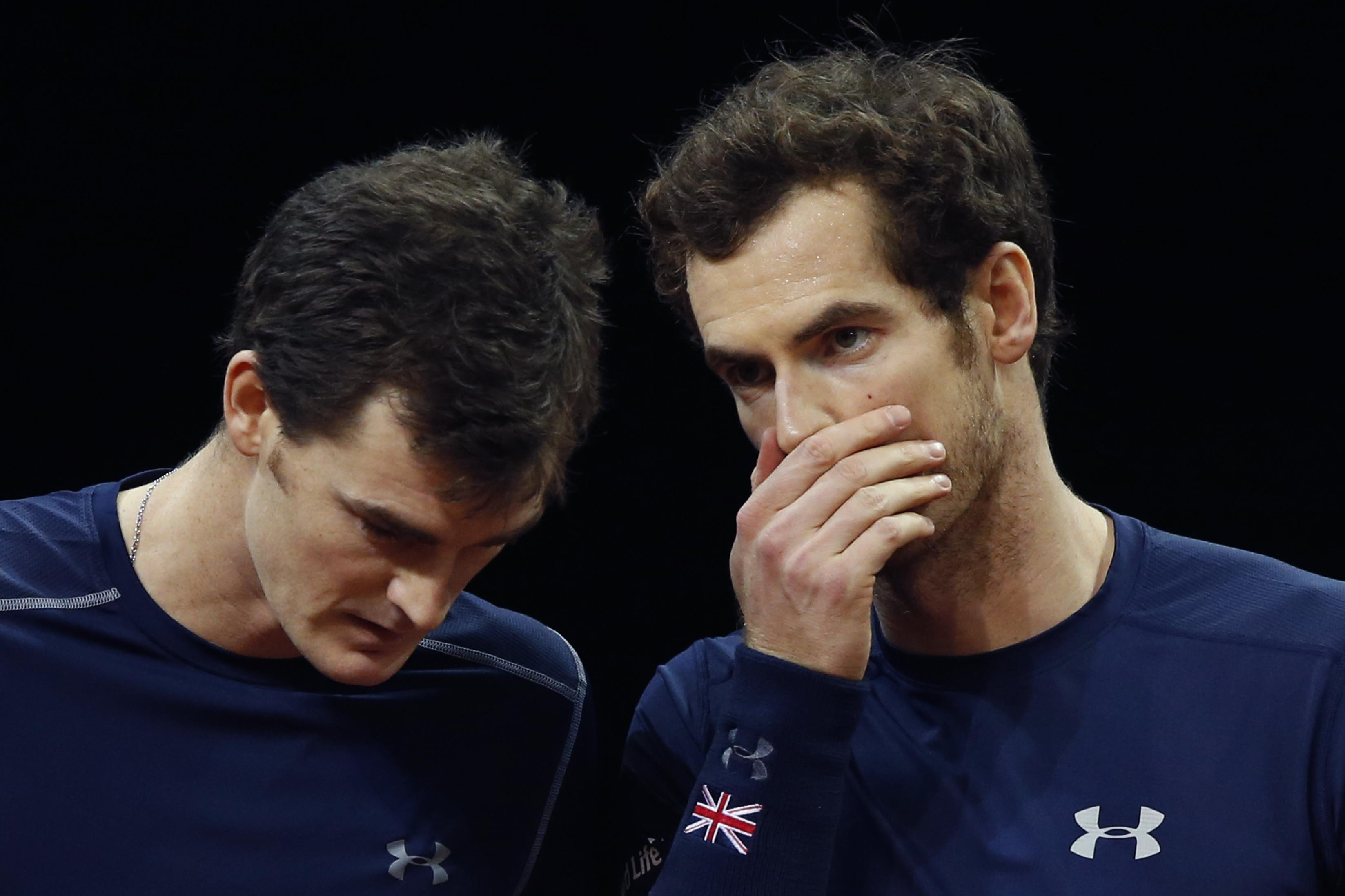 Britain wins doubles, 1 point away from Davis Cup title