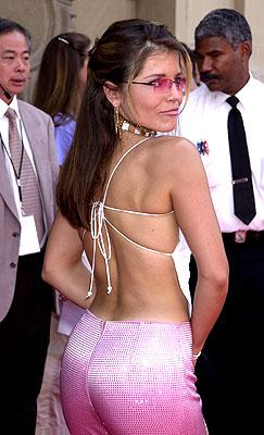 Mindy Burbano at the Hollywood premiere of Walt Disney's The Princess Diaries