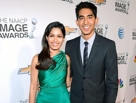 "Dev Patel, Freida Pinto Don't Celebrate Valentine's Day: ""Every Day Should Be a Celebration of Love"""