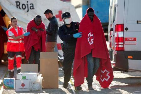 Bodies of five migrants found off Spain's southern coast