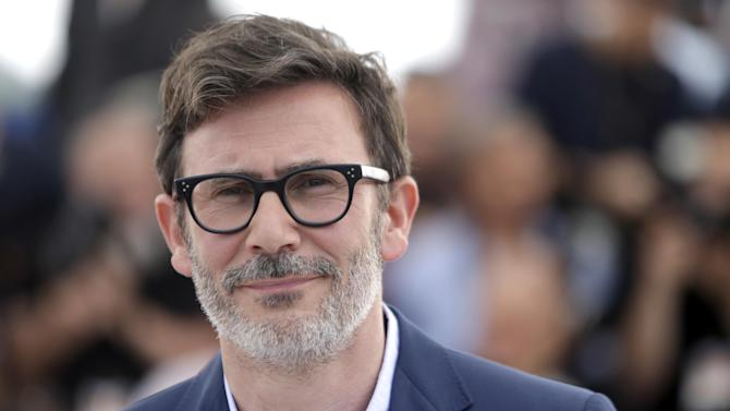 Director Michel Hazanavicius poses for photographers during a photo call for The Search at the 67th international film festival, Cannes, southern France, Wednesday, May 21, 2014. (AP Photo/Thibault Camus)