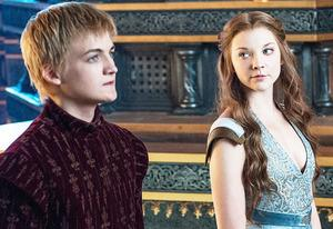 Jack Gleeson and Natalie Dormer | Photo Credits: Helen Sloan/HBO