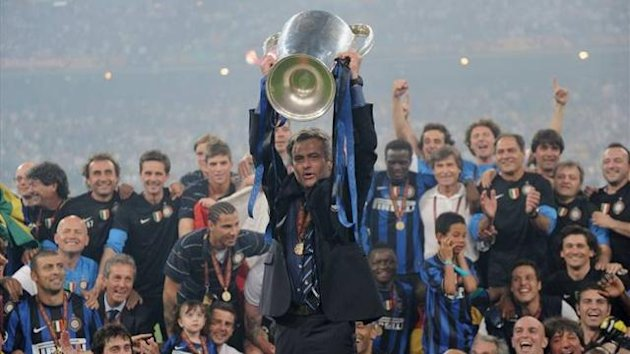 Mourinho - Inter - Champions League 2010