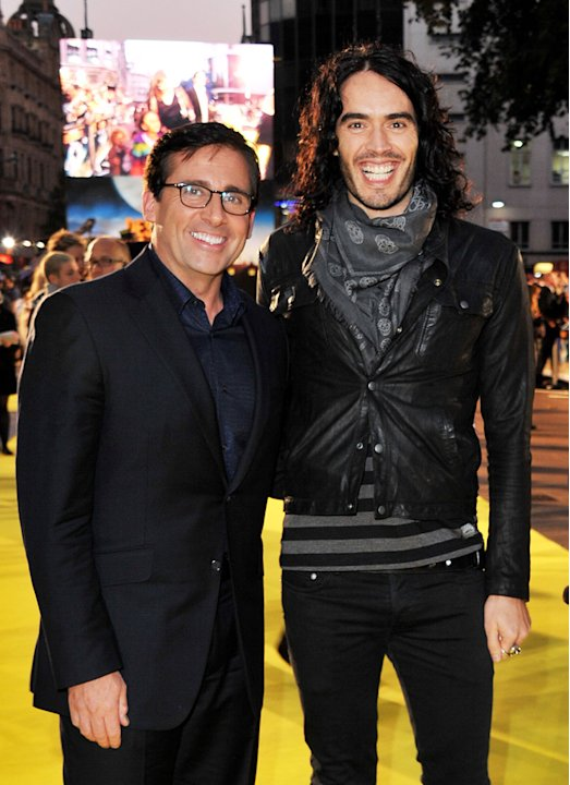 Despicable Me UK Premiere 2010 Steve Carell Russell Brand