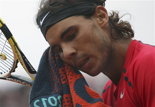 Nadal not sure when he'll return from knee injury