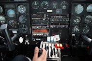 Photo illustration of a plane's control panel. South Korea says GPS (global positioning system) jamming signals have been stemming from the North, affecting civilian flights. Some 241 flights by nine South Korean airlines and 11 flights operated by nine foreign airlines have been affected since last Saturday, officials say