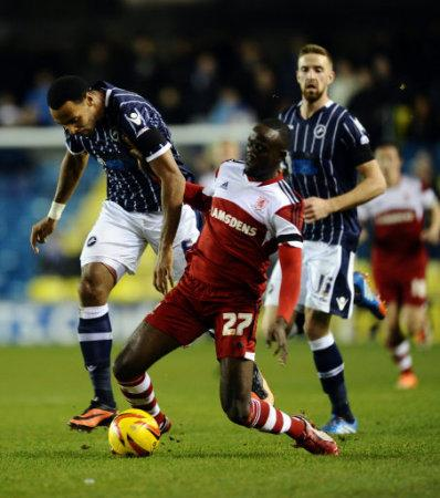 Soccer - Sky Bet Championship - Millwall v Middlesbrough - The Den