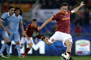 Result more important than record, says Totti