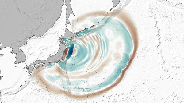Japan Tsunami Left Behind Huge Underwater Dunes
