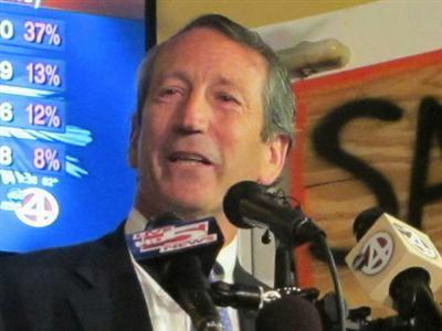 Sanford Faces Runoff for House Seat From SC