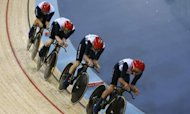 GB Wins Gold In Men's Cycling Team Pursuit