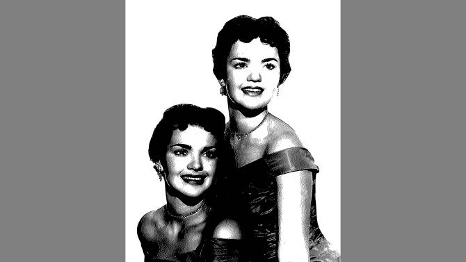 This undated copy of a photo provided by the El Dorado County Sheriff's Office shows twin sisters Patricia and Joan Miller. It us unknown which sister is which. Authorities are asking for help finding the next of kin for the two 73-year-old twin sisters found dead together in their South Lake Tahoe, Calif., home. El Dorado County Sheriff's officials say they've ruled out foul play in the deaths the women, who appear to have died within a short time frame and were found Feb. 26, 2012. (AP Photo/El Dorado County Sheriffs)