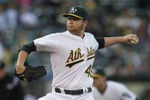 Anderson sharp for A's in return to mound