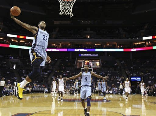 Conley scores 20 as Grizzlies beat Bobcats 85-80