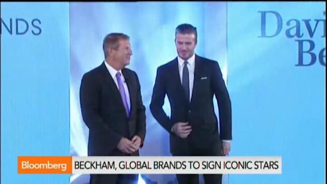 David Beckham Signs With Global Brands as Owner