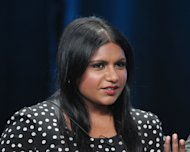 Creator/Executive Producer Mindy Kaling speaks onstage at 'The Mindy Project' panel during day 3 of the FOX portion of the 2012 Summer TCA Tour held at the Beverly Hilton Hotel on July 23, 2012 -- Getty Images