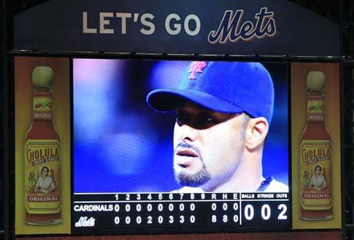 Santana pitches first no-hitter in Mets' history