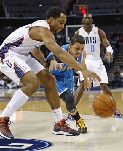 Hornets extend Bobcats' skid to 18 games