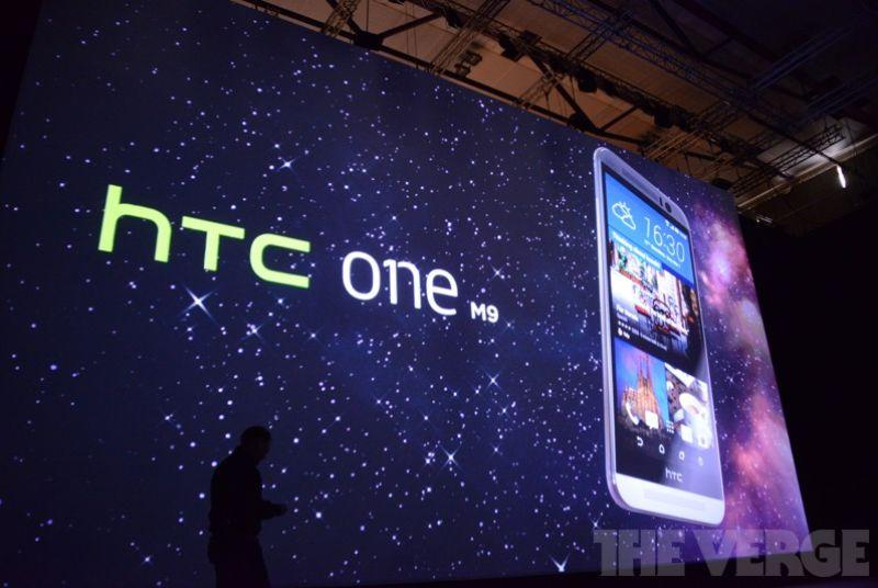 HTC's One M9 is official