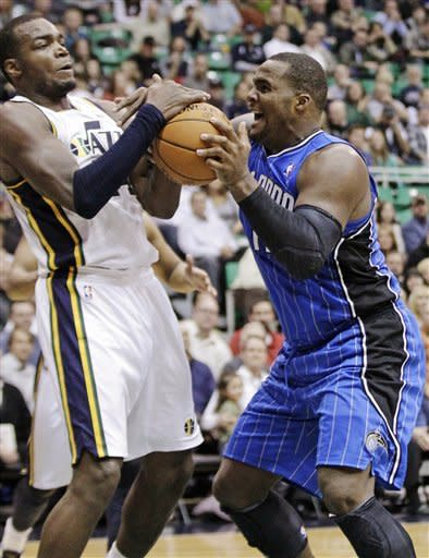 Jefferson scores 31 to lift Jazz over Magic 87-81