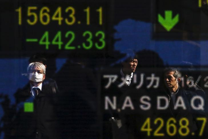 Dollar, global stocks nudge higher as selloff subsides