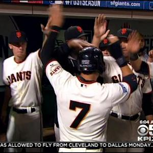 Giants One Win Away From World Series