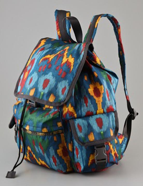 LeSportsac Ikat Voyager Backpack, $108, at Shopbop