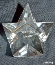 USTA Starfish award