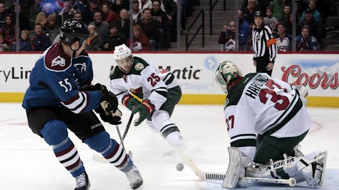 Wild rally to beat Avs 2-1 in shootout