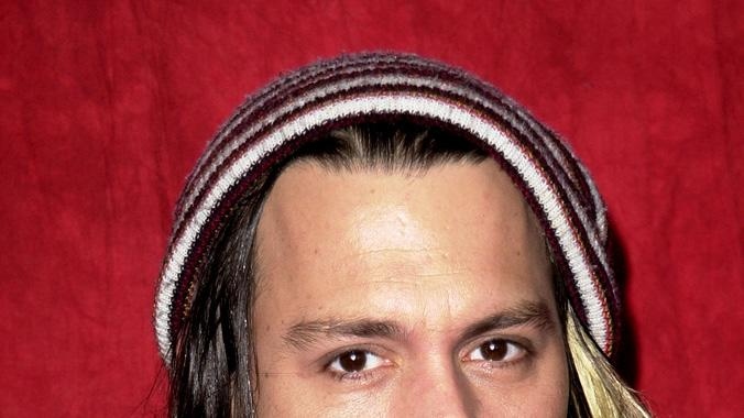 Johnny Depp Wears Hats 2011
