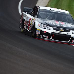 Harvick takes the pole for Brickyard 400