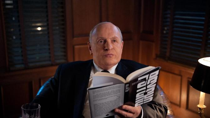 "This film image released by Fox Searchlight shows Anthony Hopkins as Alfred Hitchcock in ""Hitchcock."" (AP Photo/Fox Searchlight, Suzanne Tenner)"