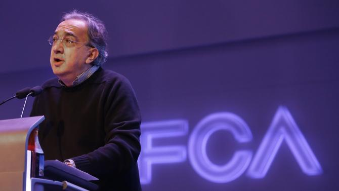 Fiat Chrysler reveals plans to grow sales by 2018