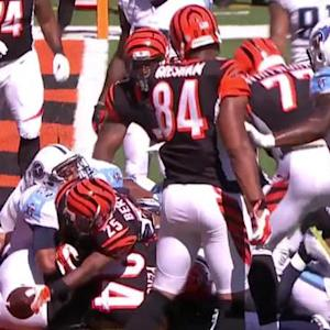 Cincinnati Bengals running back Giovani Bernard 1-yard touchdown run