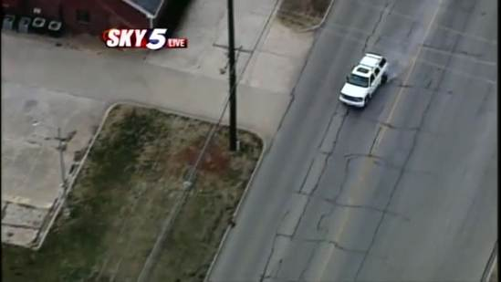 VIDEO: Watch the end of Friday's police chase in Del City
