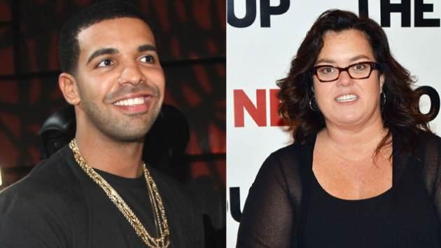 Drake / Rosie O'Donnell  -- Getty Premium