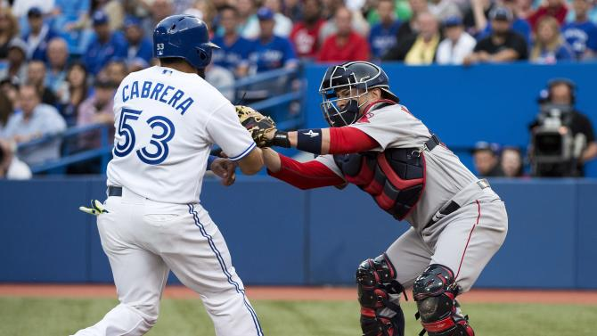 Bautista homers as Blue Jays beat Red Sox 6-4