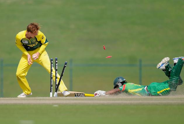 ICC Under 19 World Cup - Australia v Bangladesh