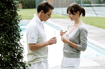 Jonathan Rhys-Meyers and Emily Mortimer in DreamWorks Pictures' Match Point