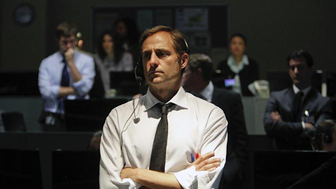 """This film image released by Columbia Pictures shows Mark Strong in a scene from """"Zero Dark Thirty,"""" directed by Kathryn Bigelow.  (AP Photo/Sony - Columbia Pictures, Jonathan Olley)"""