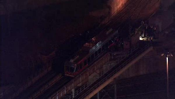 SEPTA trolley derails at 69th Street Terminal