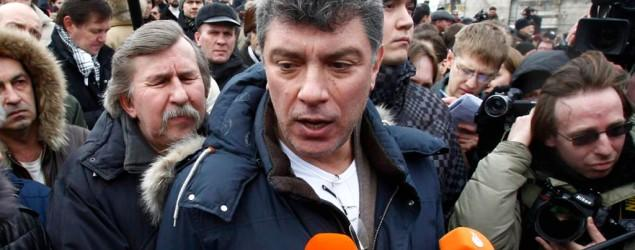 Russian opposition leader fatally shot