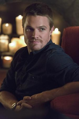 Stephen Amell as Oliver Queen in 'Arrow,' Episode 2, Season 1 -- 'Honor Thy Father' -- Jack Rowand/The CW
