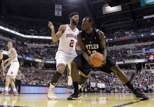 Butler upsets No. 1 Indiana 88-86 in OT