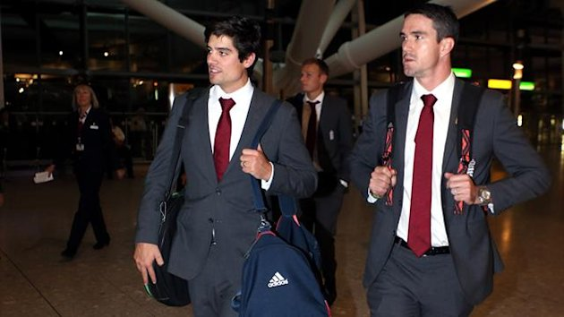 Skipper Alastair Cook, left, is glad to have Kevin Pietersen's, right, services for the one-day tour